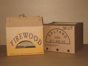 Shipping package for firewood