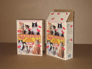 Packages for pet accessories