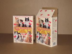 Lemmikloomatarvete pakendid