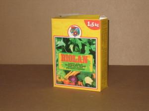Packages for fertilisers