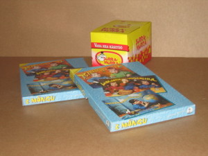 Boxes for children's games