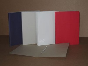 Loose-leaf binder A4 with clip