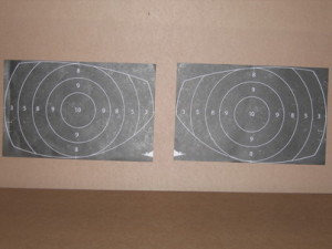 Round target sheets