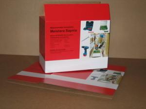 Транспортировочная упаковка для аккумуляторной дрели