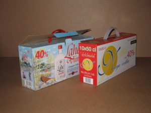 Boxes for alcohol