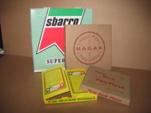 Упаковки для пиццы с печатью