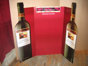 Advertising stand for the drink industry