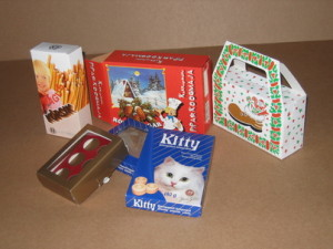 Boxes for biscuits and sweets
