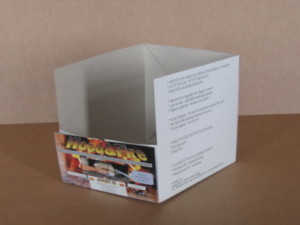 Package for wooden briquette